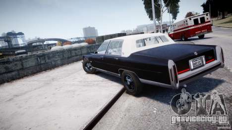 Cadillac Fleetwood Brougham 1985 для GTA 4 вид слева