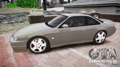Nissan 200SX для GTA 4 вид слева