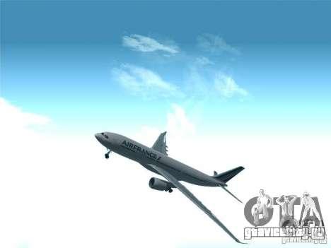 Airbus A330-200 Air France для GTA San Andreas вид сбоку