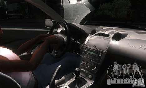 Toyota Celica-SS2 Tuning v1.1 для GTA San Andreas вид изнутри