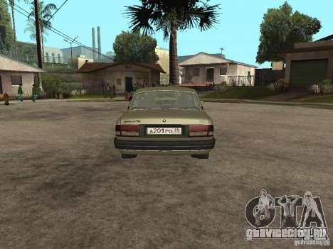 ГАЗ 3110 v 1 для GTA San Andreas вид сзади слева
