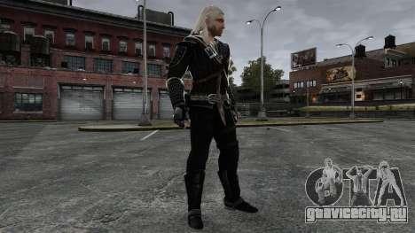 Геральт из Ривии v7 для GTA 4 пятый скриншот