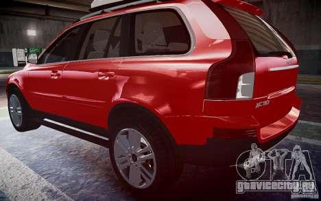 Volvo XC 90 для GTA 4 вид слева