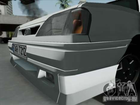FSO Polonez Caro Orciari 1.4 GLI 16v для GTA San Andreas вид сзади слева