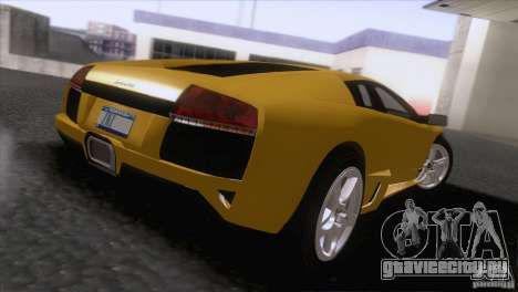 Lamborghini Murcielago LP640 2006 V1.0 для GTA San Andreas вид сзади слева