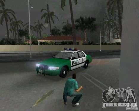 Ford Crown Victoria 2003 Police для GTA Vice City вид слева