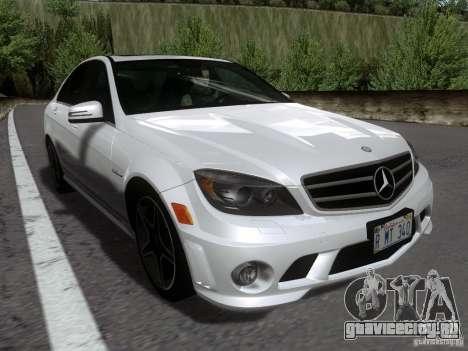 Mercedes-Benz C63 AMG 2010 для GTA San Andreas