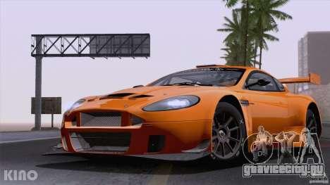 Aston Martin Racing DBRS9 GT3 для GTA San Andreas вид изнутри