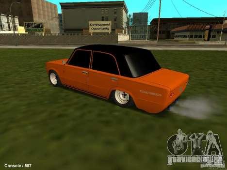 ВАЗ 2101 Бродяга для GTA San Andreas вид сзади