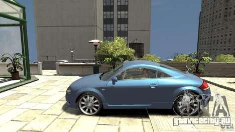Audi TT 1.8 (8N) для GTA 4 вид слева