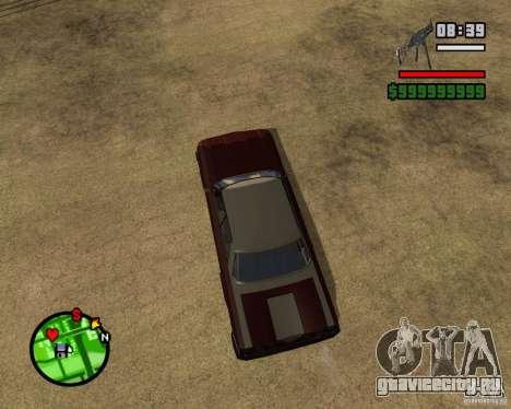Mercury Mascarpone для GTA San Andreas вид сзади слева