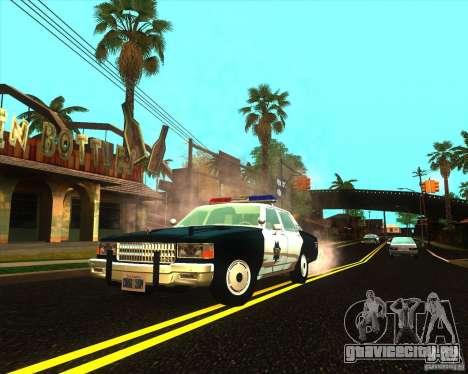 Chevrolet Caprice 1986 SFPD для GTA San Andreas