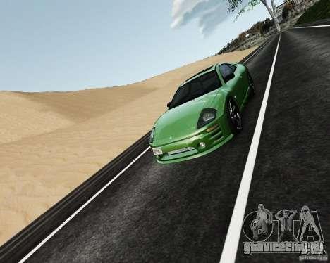 Mitsubishi Eclipse GT-S для GTA 4 вид сбоку