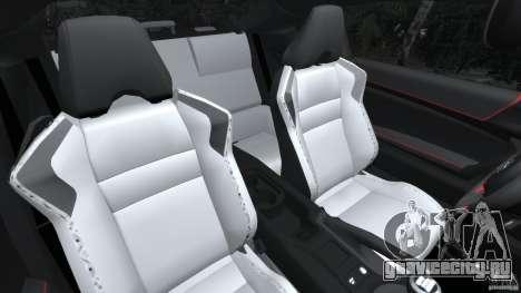 Scion FR-S для GTA 4 вид изнутри