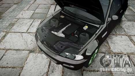 BMW M3 e46 2005 для GTA 4 вид снизу