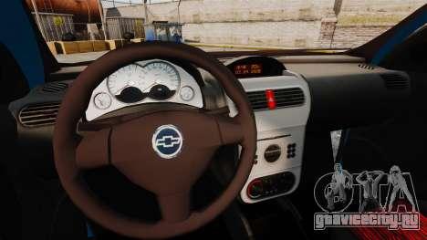 Chevrolet Montana FIXA для GTA 4 вид изнутри