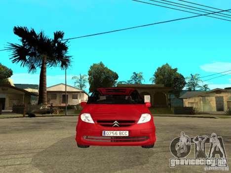 Citroen C8 для GTA San Andreas вид справа