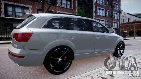 Audi Q7 LED Edit 2009 для GTA 4 вид слева