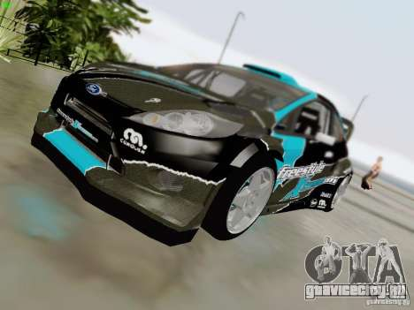 Ford Fiesta RS для GTA San Andreas вид сбоку