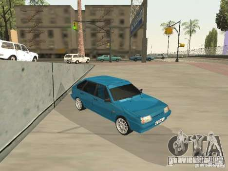 ВАЗ 21093 Tuning для GTA San Andreas вид сзади слева
