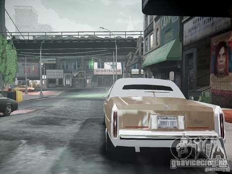 Cadillac Fleetwood 1985 для GTA 4 вид сзади слева