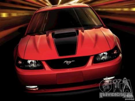 Загрузочные экраны в стиле Ford Mustang для GTA San Andreas второй скриншот
