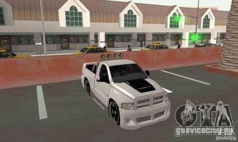 Dodge Ram SRT-10 Tuning для GTA San Andreas