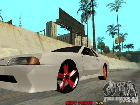 Elegy 29-13 для GTA San Andreas вид изнутри