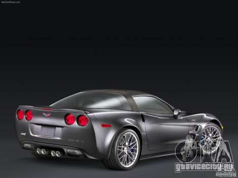 Загрузочные Экраны Chevrolet Corvette для GTA San Andreas третий скриншот