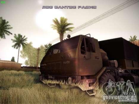 КрАЗ 6316 для GTA San Andreas вид сзади