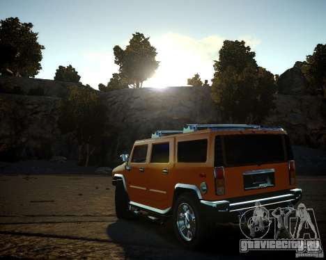 Hummer H2 2010 Limited Edition для GTA 4 вид сбоку