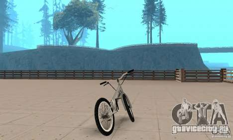Велотриал CS bikes для GTA San Andreas вид слева