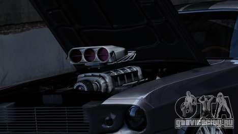 Ford Shelby Mustang GT500 Eleanor для GTA 4 вид сзади слева
