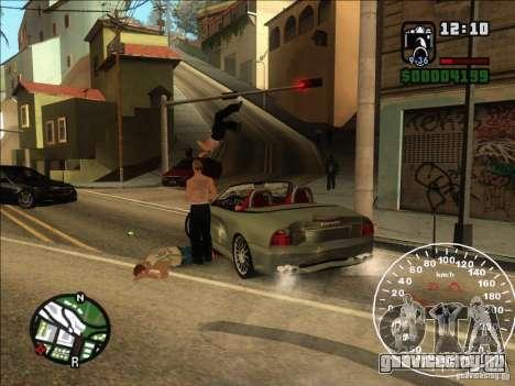 Spyder Cambriocorsa для GTA San Andreas вид сзади