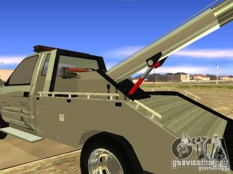 GMC Sierra Tow Truck для GTA San Andreas вид справа