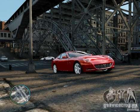 Ferrari 612 Scaglietti для GTA 4 вид слева