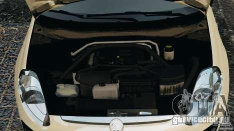 Fiat Punto Evo Sport 2012 v1.0 [RIV] для GTA 4 вид сверху