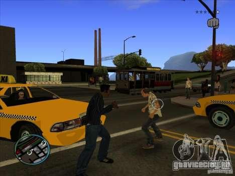 GTA IV TARGET SYSTEM 3.2 для GTA San Andreas второй скриншот