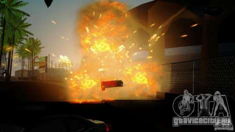 Overdose Effects v1.5 для GTA San Andreas