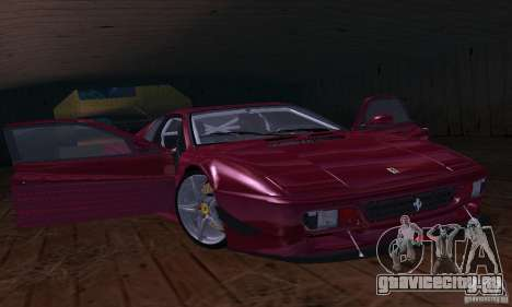 Ferrari 512 TR для GTA San Andreas вид справа