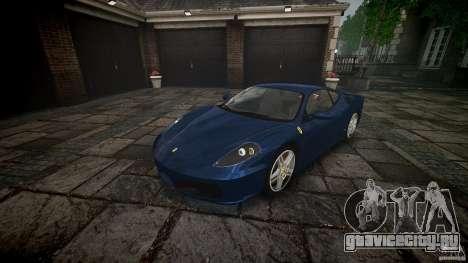 Ferrari F430 v1.1 2005 для GTA 4 вид изнутри