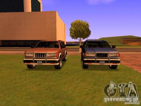 Mountainstalker S для GTA San Andreas вид снизу