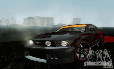Ford Mustang GT Tunable для GTA San Andreas вид слева