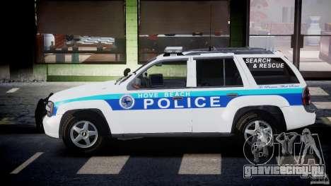 Chevrolet Trailblazer Police V1.5PD [ELS] для GTA 4 вид слева