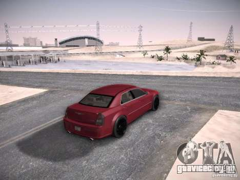 Chrysler 300C SRT8 для GTA San Andreas вид изнутри