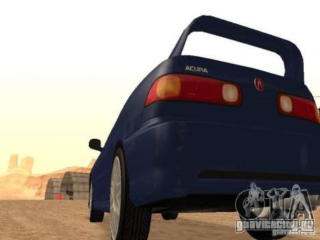 Acura RSX Light Tuning для GTA San Andreas вид сзади слева