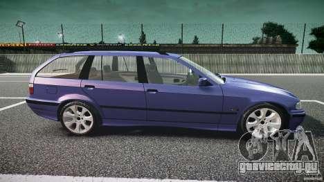 BMW 318i Touring для GTA 4 вид изнутри