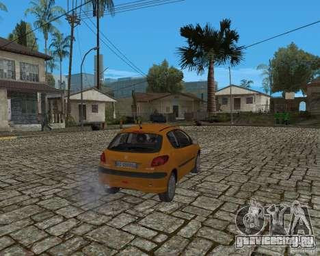 Peugeot 306 для GTA San Andreas вид справа