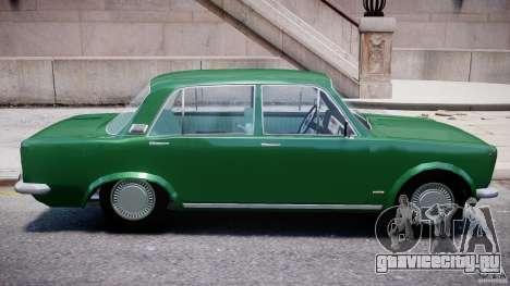 Fiat 125p Polski 1970 для GTA 4 вид сверху