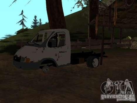 Кузов ГАЗели для GTA San Andreas третий скриншот